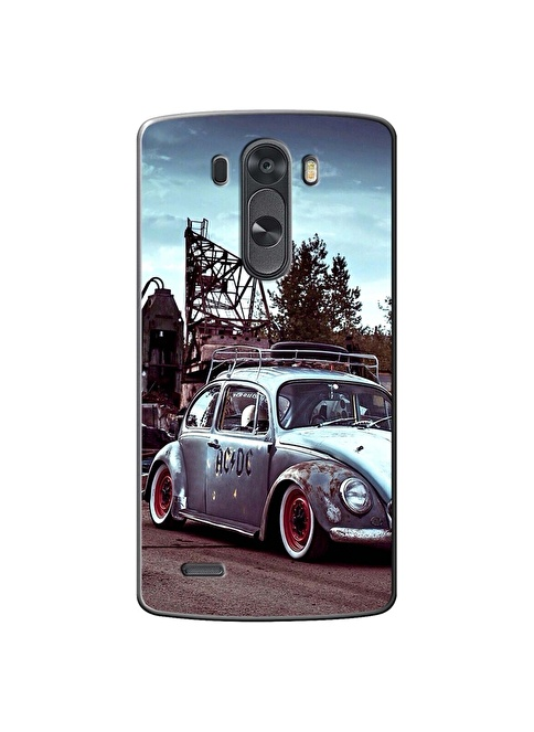 People's Cover LG G3 Kabartmalı Telefon Kılıfı Renkli
